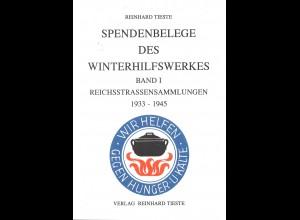Reinhard Tieste: Spendenbelege des Winterhilfswerkes (Band I, 1. Aufl. 1991)