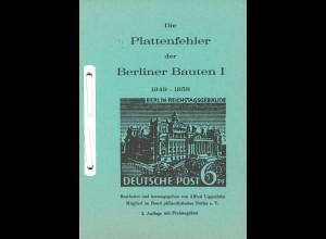 Alfred Lippschütz: Die Plattenfehler der Berliner Bauten I (1949–1958)