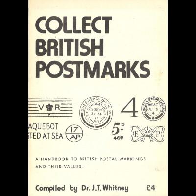 GROSSBRITANNIEN: J. T. Whitney: Collect British Postmarks (1979)