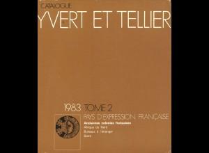 YVERT ET TELLIER: Pays d'expression Francaise (Band 2, 1983)