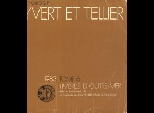 YVERT ET TELLIER: Timbre d'Outre-Mer (Band 6, 1983)