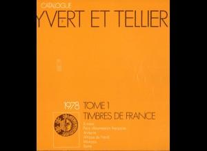 YVERT ET TELLIER: Timbres de France (Band 1, 1978)