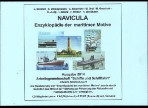 S.M.S. NAVICULA e.V.: Enzyklopädie der maritimen Motive (2014)