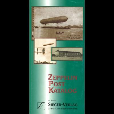 SIEGER: Zeppelin Post Katalog (22. Auflage 2001)