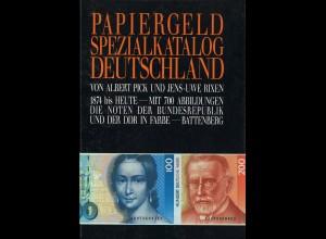 Albert Pick/Jens-Uwe Rixen: Papiergeld Spezialkatalog Deutschland