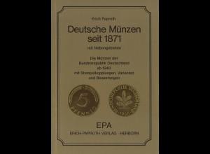 Erich Paproth: Deutsche Münzen seit 1871 mit Nebengebieten (2. Aufl. 1985)