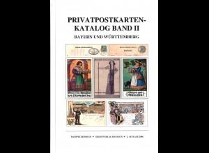 Hanspeter Frech: Privatpostkarten-Katalog Bayern und Württemberg