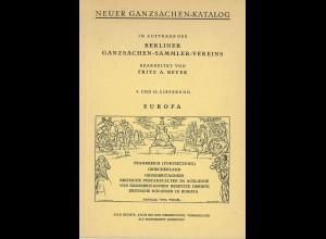 Neuer Ganzsachen-Katalog. Lieferung 9/10: Großbritannien und Gebiete (1966)