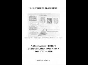 Jakob Vetter: Nachnahme-briefe im deutschen Postwesen von 1782–1990