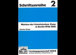Günter Klein: Marken der französischen Zone in Berlin 1946/1950
