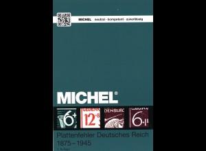 MICHEL Plattenfehler Deutsches Reich 1875–1945 (1. Aufl. 2015)