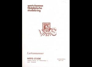 BELGIEN: Lustrumnummer de WEFIS-Studie Juni 1978