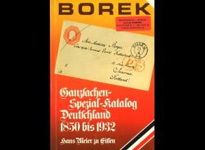 Hans Meier zu Eissen: Borek Ganzsachen-Spezial-Katalog (2 Bände)