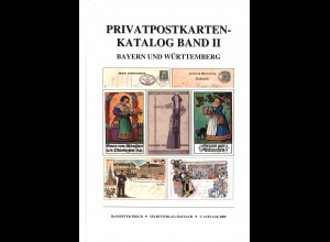 Hanspeter Frech: Privatpostkarten-Katalog Bayern und Württemberg (Mgl.-E.)