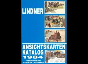 LINDNER Ansichtskarten-Katalog 1984