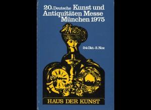 21. Deutsche Kunst und Antiquitäten Messe München 1976