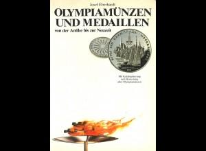 Josef Eberhardt: Olympiamünzen dvon der Antike bis zur Neuzeit (1980)