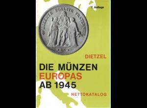 Sammel-Lot von älteren Dietzel-Katalogen (19)