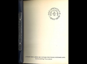 Frans Blom: Documentatie Postinrichtingen 1850–1906