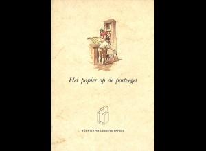 NIEDERLANDE: Het papier op de postzegel (1985)