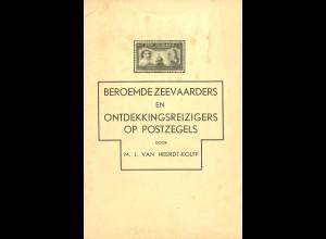 NIEDERLANDE: M.J. van Heerdt-Kolff: Beroemde Zeevaarders ... op Postzegels