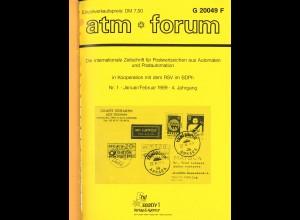 atm*forum, 4. Jahrgang 1989, Jahresband