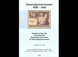 Handbuch über die Formulare der Deutschen Post Osten Generalgouvernement