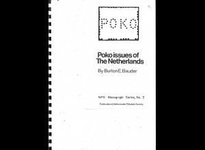 NIEDERLANDE: Burton E. Bauder: Poko issues of The Netherlands (1974)