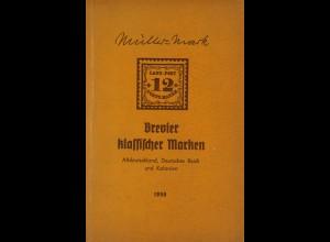Ewald Müller-Mark: Brevier Klassischer Marken (1956)