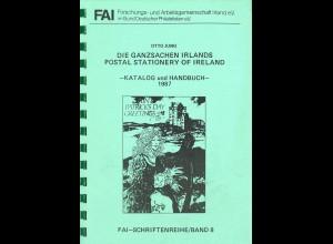 IRLAND: Otto Jung: Die Ganzsachen Irlands. Katalog und Handbuch 1987