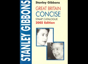 Stanley Gibbons Great Britain CONCISE Stamp Catalogue 2002 Edition