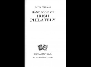 IRLAND: David Feldman: Handbook of Irish Philately