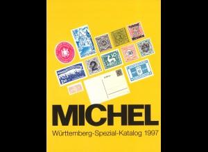 MICHEL Württemberg-Spezial-Katalog 1997