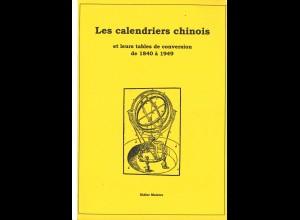 CHINA: Didier Maistre: Les calendriers chinoisat leurs tables de conversion