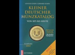 Günter Schön / Gerhard Schön: Kleiner Deutscher Münzkatalog (1871 bis heute)