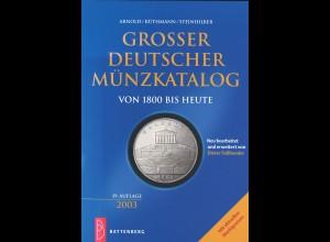 Arnold/Küthmann/Steinhilber: Grosser Deutscher Münzkatalog von 1800 bis heute