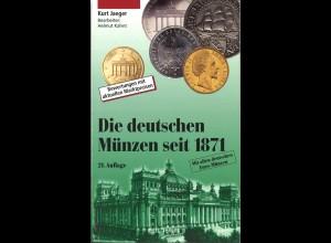 Kurt Jaeger: Die Deutschen Münzen seit 1871 (21. Aufl.)