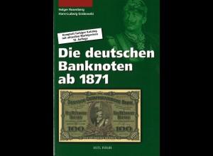 Rosenberg/Grabowski: Die deutschen Banknoten ab 1871 (18. Aufl.2011)