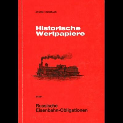 Drumm/Henseler: Historische Wertpapiere (Band 1 + 2)