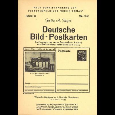 Fritz A. Beyer: Deutsche Bild-Postkarten (1962)