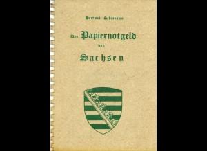 Hartmut Schoenawa: Das Papiergeld von Sachsen (1. Aufl. 1991)