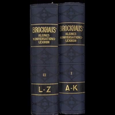 Brockhaus' Kleines Konversations-Lexikon (5. Aufl. 1920)