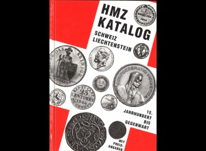HMZ Katalog Schweiz - Liechtenstein, 15. Jh. bis Gegenwart (5. Aufl. 1995)