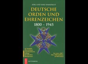 Jörg & Anke Nimmergut: Deutsche Orden und Ehrenzeichen 1800-1945 (2012)