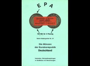 4 kleine Münzkataloge: 2 x Dietzel + EPA + mehr
