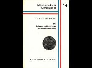 Kurt Jaeger/Albert Pick: Die Münzen und Banknoten der Tschechoslowakei