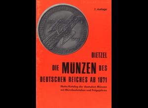 Die Dietzel-Bibliothek der Münz-Kataloge (37 verschiedene)