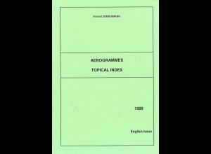 Richard Zimmermann: Aerogrammes Topical Index / Motivverzeichnis