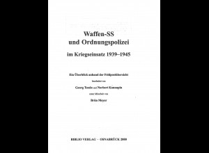 G. Tessin/N. Kannapin: Waffen-SS und Ordnungspolizei im Kriegseinsatz 1939-1945