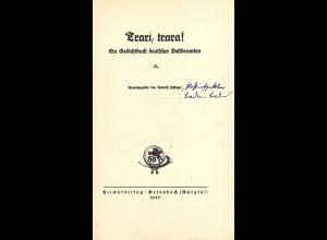 Trari, trara! Ein Gedichtbuch deutscher Postbeamten (1927)